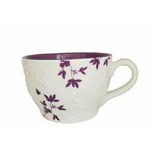Starbucks 2006 Embossed Purple Flower Relief…